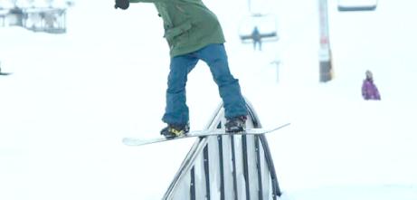 スノーボード外来